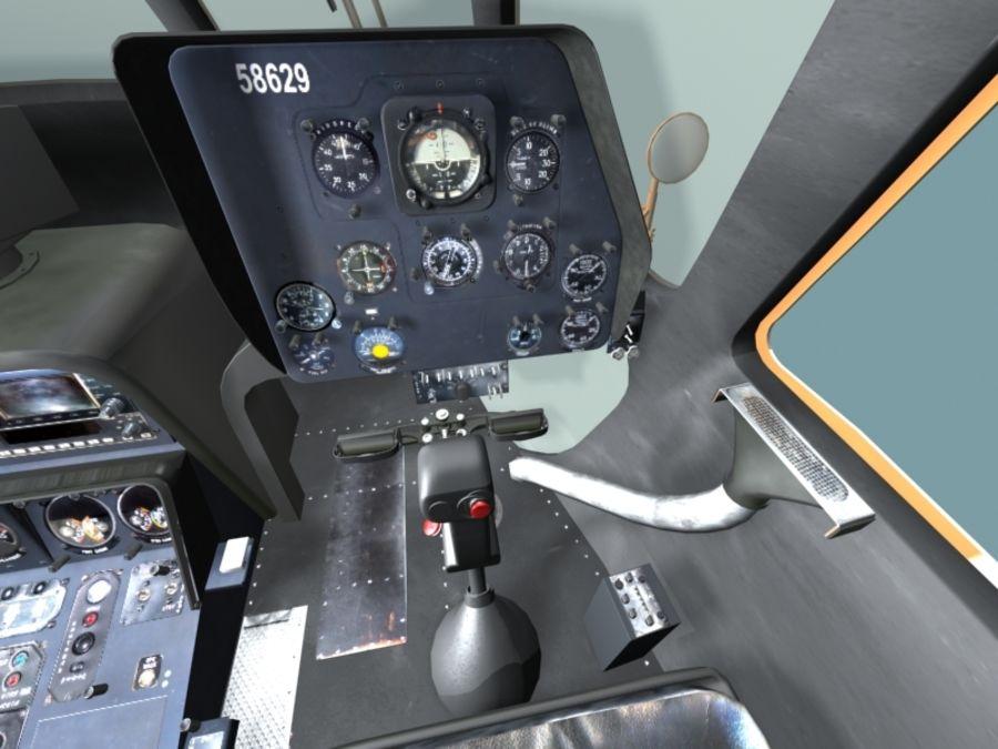 Mi7 Cockpit royalty-free 3d model - Preview no. 16