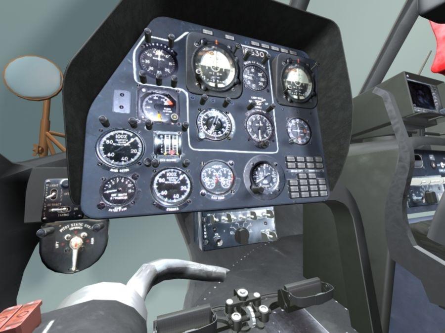 Mi7 Cockpit royalty-free 3d model - Preview no. 14