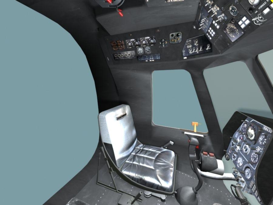 Mi7 Cockpit royalty-free 3d model - Preview no. 19