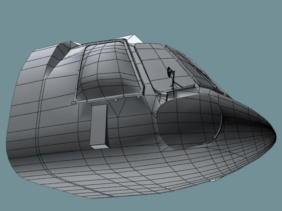 Mi7 Cockpit royalty-free 3d model - Preview no. 29