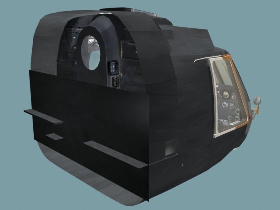 Mi7 Cockpit royalty-free 3d model - Preview no. 21