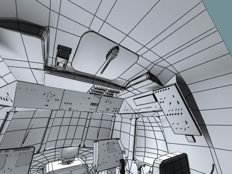 Mi7 Cockpit royalty-free 3d model - Preview no. 33