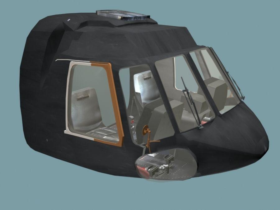 Mi7 Cockpit royalty-free 3d model - Preview no. 1