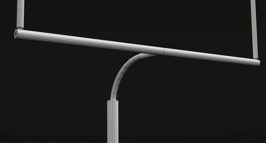 Zestaw piłkarski royalty-free 3d model - Preview no. 32