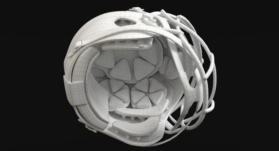 Zestaw piłkarski royalty-free 3d model - Preview no. 12