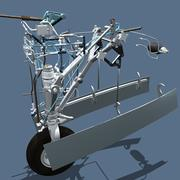 Aircraft Nose Gear Steering System 3d model