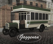 Benz-Gaggenau C40 alter Bus 3d model