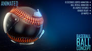Baseball Ball Concept 3d model