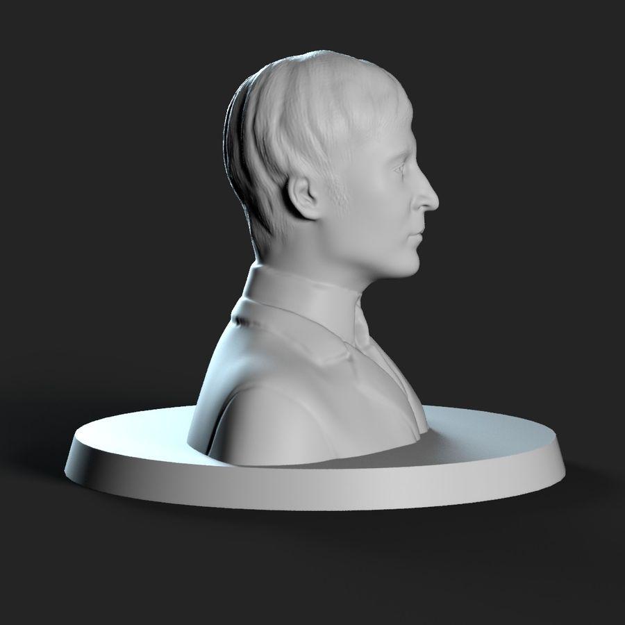 Джон Леннон 3D Печать royalty-free 3d model - Preview no. 8