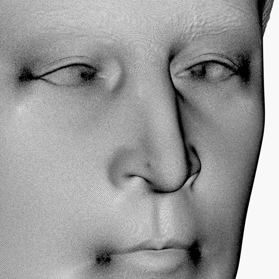 Джон Леннон 3D Печать royalty-free 3d model - Preview no. 10