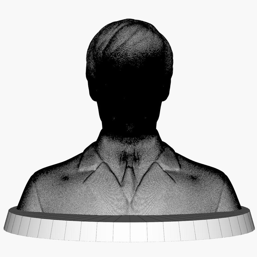 Джон Леннон 3D Печать royalty-free 3d model - Preview no. 9