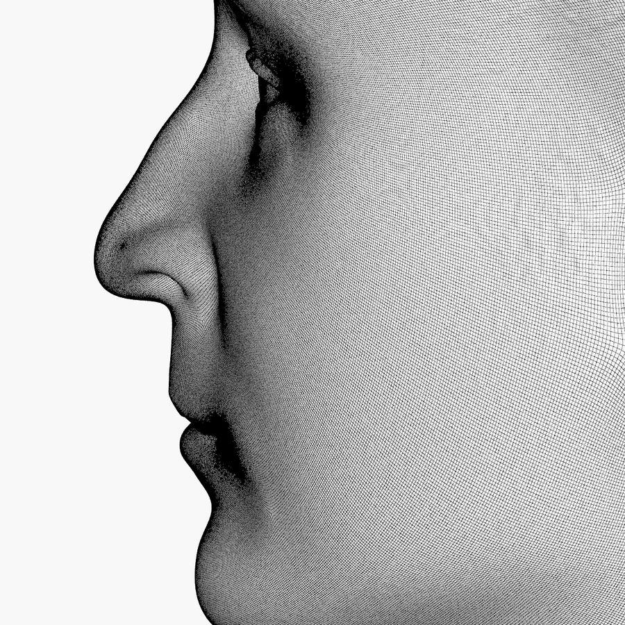 Джон Леннон 3D Печать royalty-free 3d model - Preview no. 11