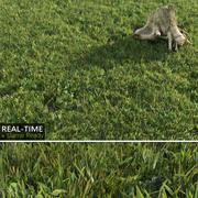 Gazon en temps réel 3d model