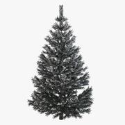Pine Fir Tree with Snow 3d model