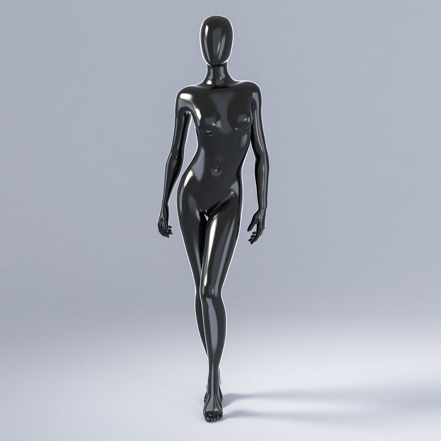 Female mannequin 3 royalty-free 3d model - Preview no. 2