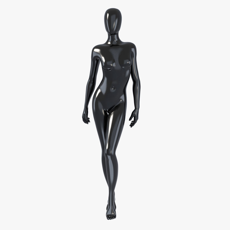 Female mannequin 3 royalty-free 3d model - Preview no. 1