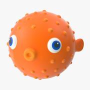 Badleksaker - Fisk 3d model