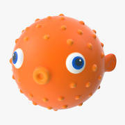 Bath Toy - Fish 3d model