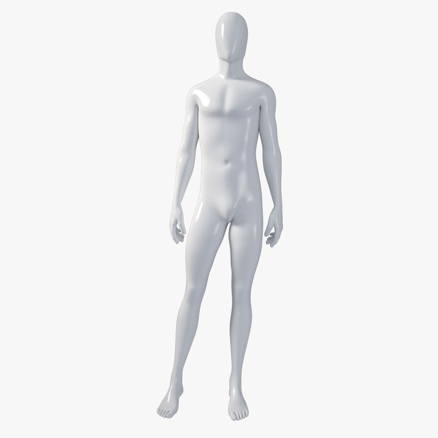 Male mannequin 4 royalty-free 3d model - Preview no. 1