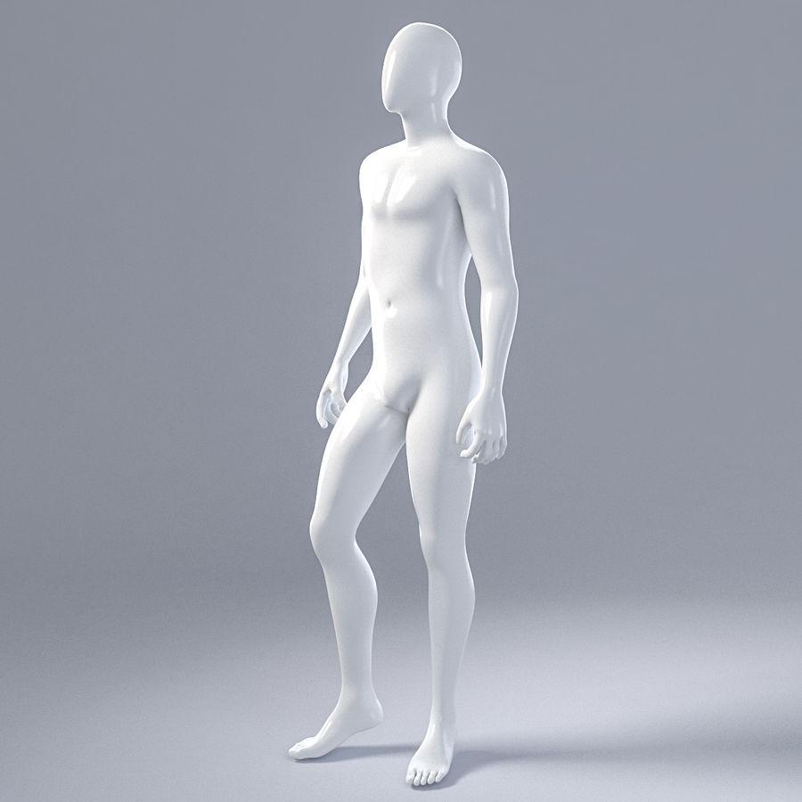 Mannelijke mannequin 1 royalty-free 3d model - Preview no. 4