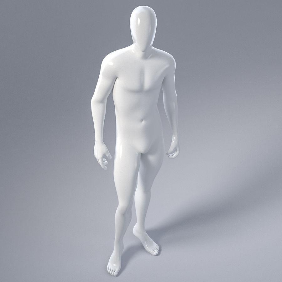 Mannelijke mannequin 1 royalty-free 3d model - Preview no. 14