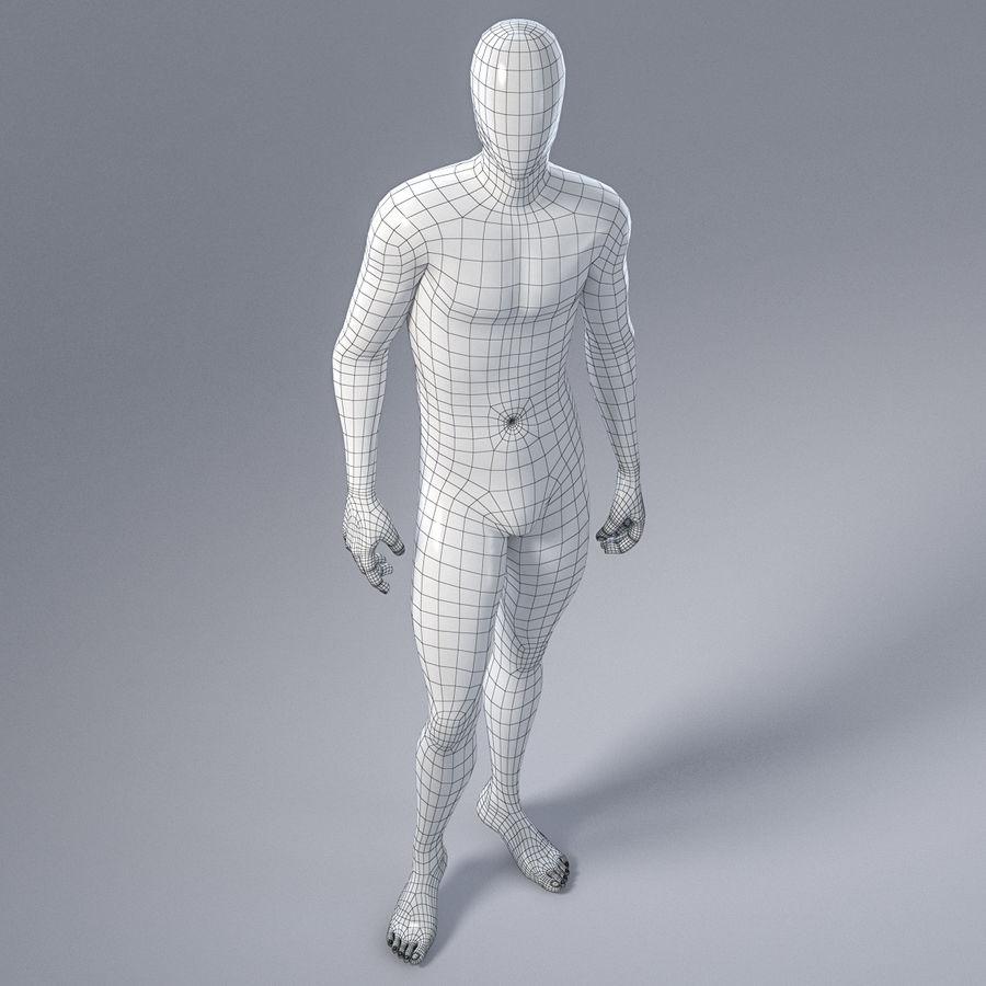 Mannelijke mannequin 1 royalty-free 3d model - Preview no. 15
