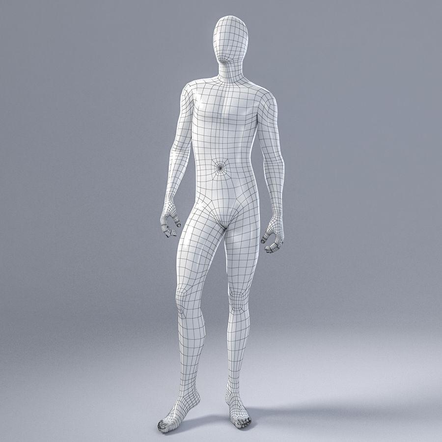 Mannelijke mannequin 1 royalty-free 3d model - Preview no. 3