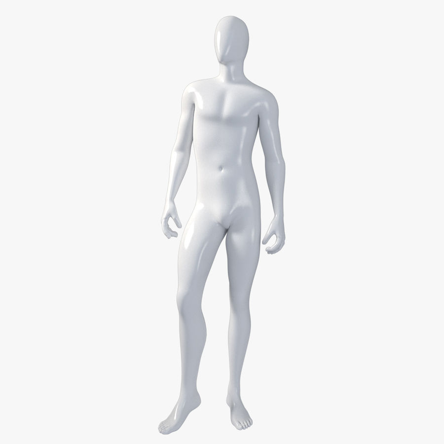 Male mannequin 1 royalty-free 3d model - Preview no. 1