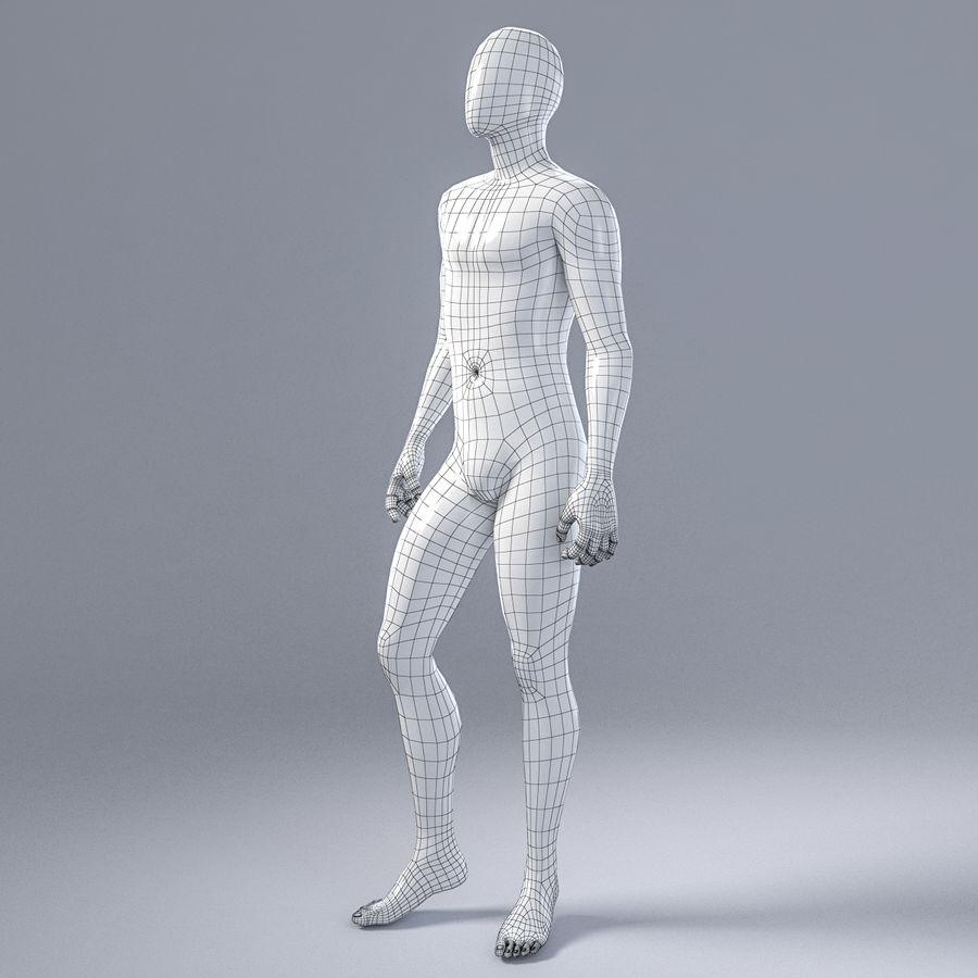 Mannelijke mannequin 1 royalty-free 3d model - Preview no. 5