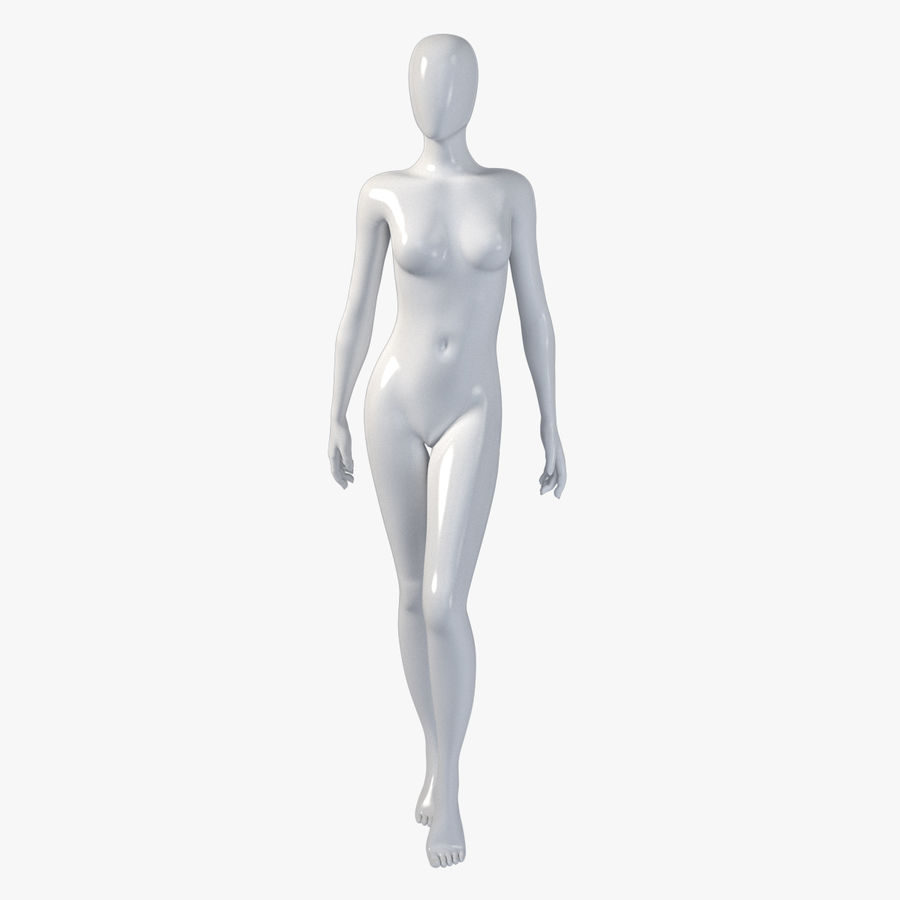 Female mannequin 7 royalty-free 3d model - Preview no. 1