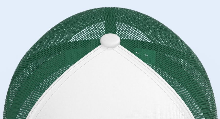 Baseball Cap royalty-free 3d model - Preview no. 11