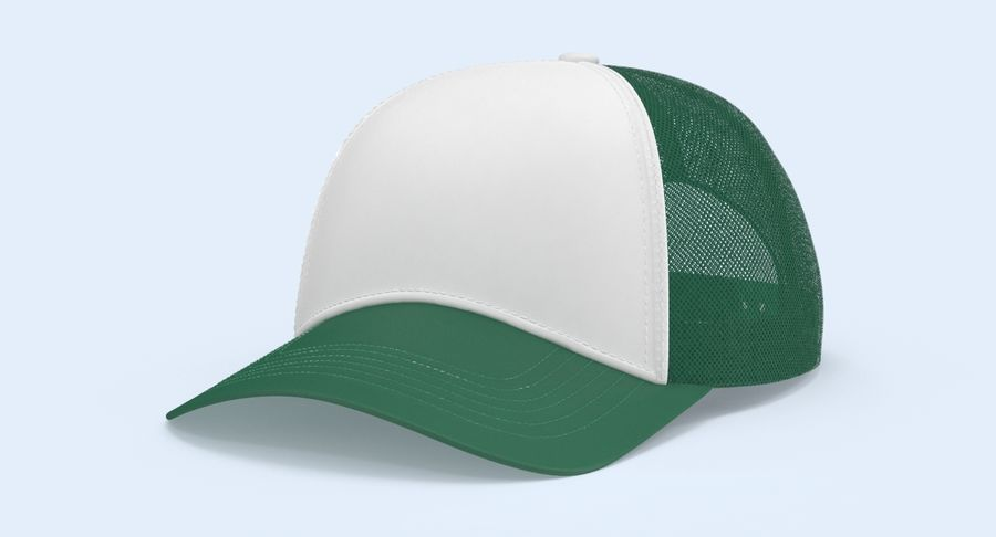 Baseball Cap royalty-free 3d model - Preview no. 3