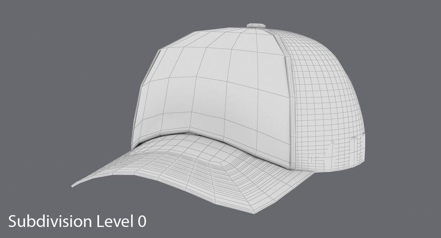 Baseball Cap royalty-free 3d model - Preview no. 14