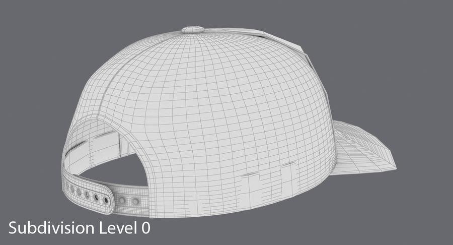 Boné de baseball royalty-free 3d model - Preview no. 16