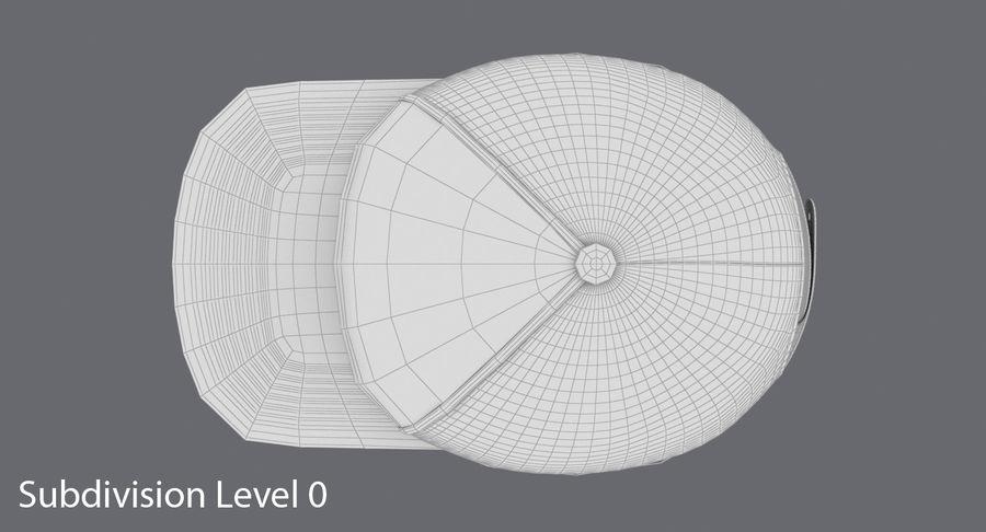 Baseball Cap royalty-free 3d model - Preview no. 15
