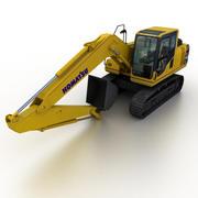 Komatsu PC160 LC-8 2013 Excavator 3d model