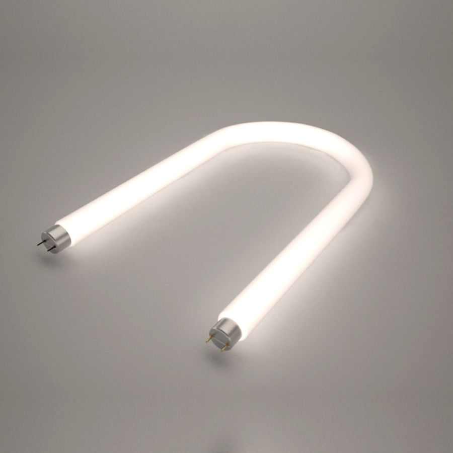 Lampe fluoreszierend royalty-free 3d model - Preview no. 1