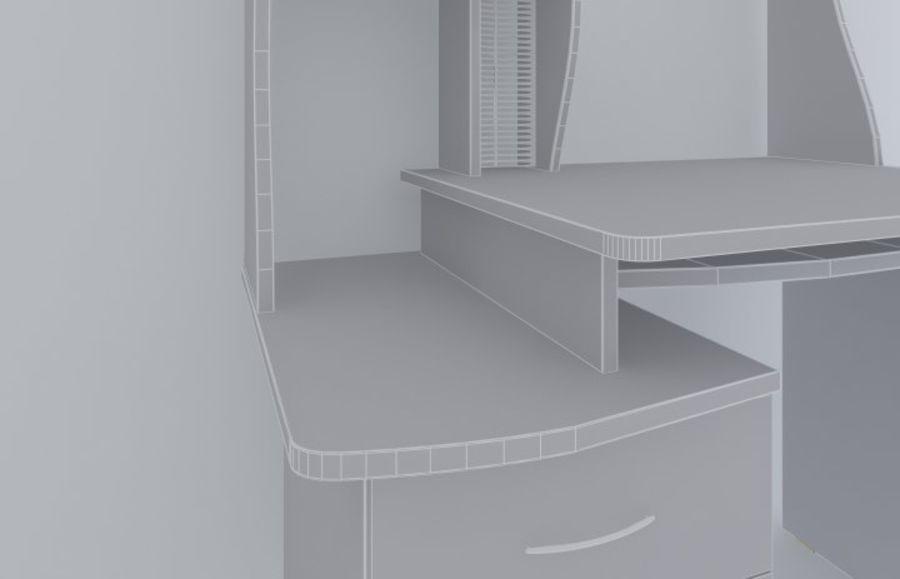컴퓨터 책상 royalty-free 3d model - Preview no. 6