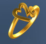 Lieben Sie mich Ring 3d model