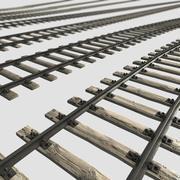 Eisenbahn eingestellt 3d model