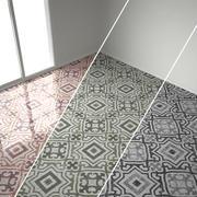 Marble classic tiles, 3 sets 3d model