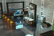 Sci Fi Paketi 3d model