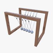 牛顿摇篮二 3d model