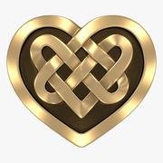 Celtic Heart 3d model