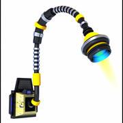 Lampada a fuoco futuristico 3d model