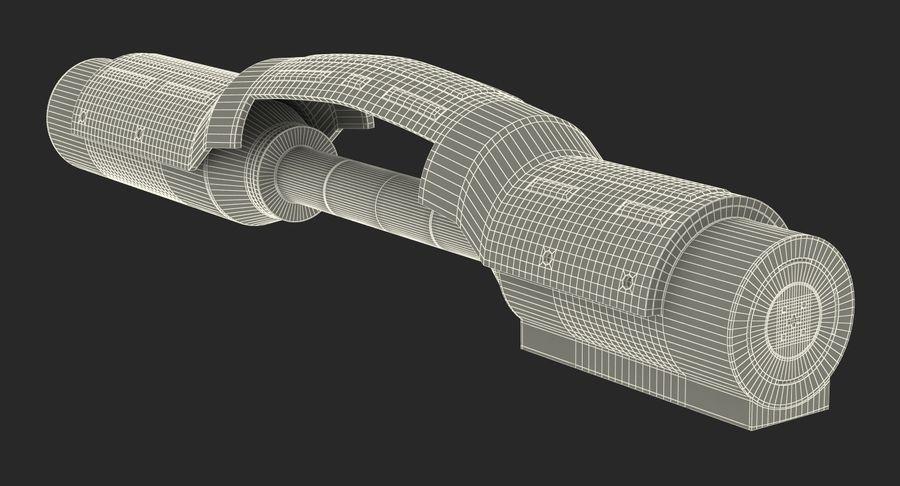 Sci-Fi Анодированный поршень 7 3D модель royalty-free 3d model - Preview no. 19