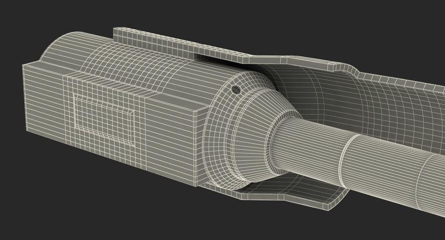 Sci-Fi Анодированный поршень 7 3D модель royalty-free 3d model - Preview no. 20