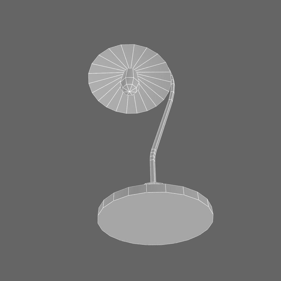 Metal desktop lamp royalty-free 3d model - Preview no. 6