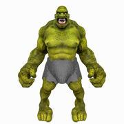 Troll Angry 3d model