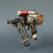 atout de jeu - nailgun 3d model